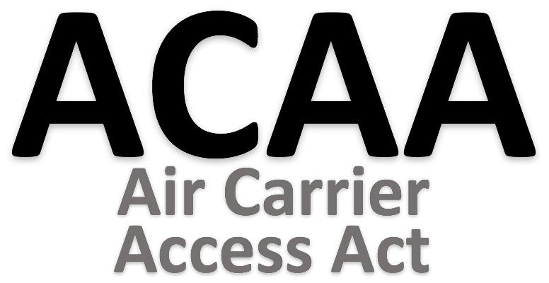 Air Carrier Access Act for Service Dog Emotional Support Animal