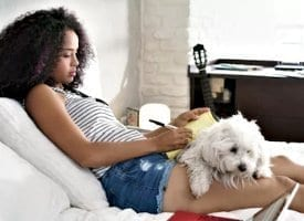 Studying with Emotional Support Animal Reduce Stress